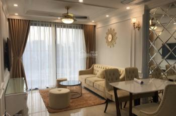 Cho thuê căn hộ Vinhomes D'capitale, 2PN, 1WC, đủ đồ, nội thất đẹp, 12tr/th. LH: 0973551816