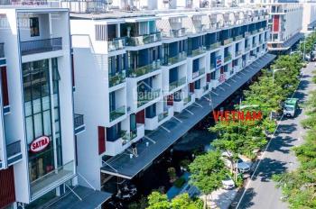 Cho thuê nhà mặt tiền đường Nguyễn Thị Nhung KĐT Vạn Phúc, DT 5x20m, 5 lầu, thang máy, chỉ 45 tr/th