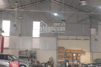 Cho thuê xưởng S=650m2, mặt phố Sài Đồng Long Biên, có 3 kiot mặt phố cho thuê kinh doanh