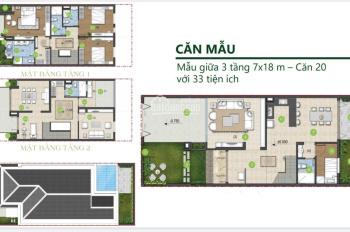 Chính chủ cần bán nhà phố Green Star, Q7, 126m2, giá cực rẻ 14 tỷ, LH 0937809539 Thiện Ailand