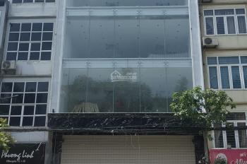 Cho thuê nhà mặt phố Trần Quốc Hoàn, CG. DT 130m2 x 8 tầng, MT 10m, LH: Gia Linh 0399.909.083
