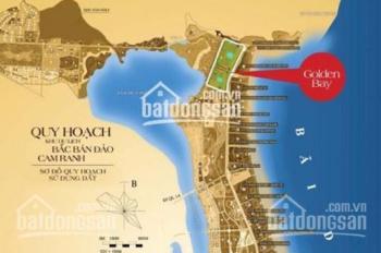 Bán gấp vài nền Golden Bay 1 Bãi Dài, Cam Ranh giá mới nhất cam kết tốt nhất, 0908833902
