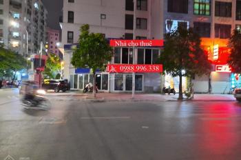 Cửa hàng phố Khúc Thừa Dụ, diện tích 70m2 x 2 tầng, thông suốt, mặt tiền 15m, lô góc vew cực đẹp