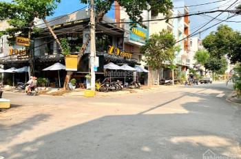 Bán nhà góc 2 mặt tiền đường Trần Thủ Độ, 7.3mx16.6m, giá 17 tỷ, nhà 1 lầu, P. Phú Thạnh, Q. TP