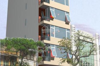 Cho thuê nhà mặt phố Lò Đúc, DT 126m2, xây 7 tầng, 1 hầm, cầu thang máy