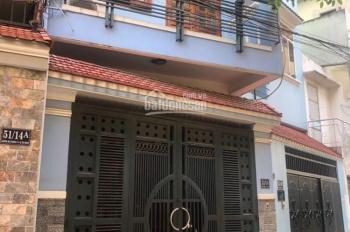 Cho thuê nhà hẻm 10m Nguyễn Minh Hoàng, K300, Tân Bình 4x20m, 2 lầu, 4 PN.