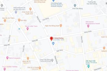 Cho thuê nhà làm cửa hàng mặt phố Hàng Đường