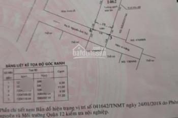 Bán nhà Nguyễn Ảnh Thủ, Hiệp Thành, Q12, 4x11m