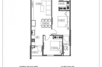 Tôi là chính chủ bán căn hộ 2PN giá 1,85 tỷ tòa HPC Landmark 105 - đủ đồ - LH 0362250973
