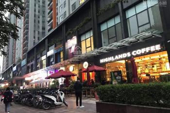 Cho thuê Kiot chân đế tòa chung cư cao 25 tầng tại Sài Đông Long Biên.