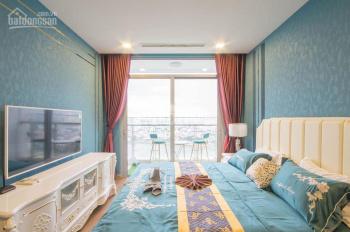 Cho thuê căn hộ Vinhomes Central Park, 3PN, 128 m2 full nội thất, giá chỉ 26tr/tháng LH: 0941813839