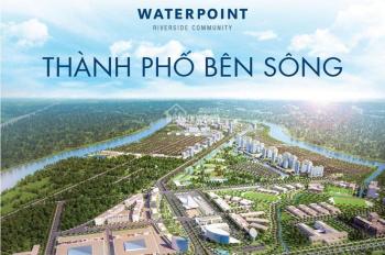 Dinh thự Waterpoint, 450 - 1000m2. Vị trí độc tôn của ven sông Vàm Cỏ Đông, 090.769.7849