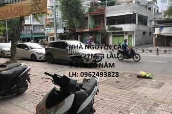 Bán nhà 256 Minh Phụng Q11 dt: 8.4x27m, 3 tấm giá: 56 tỷ LH: 0933655230