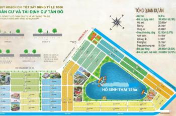 Cần bán 5 lô đất trong KDC Tân Đô 130, 114, 105, 80 (m2) chính chủ ký gửi, giá rẻ hơn cty đang bán