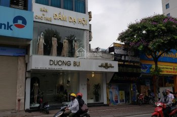 Cho thuê gấp nhà mặt phố Thái Hà cũ gần Chùa Bộc, 100m2 x 4 tầng giá 70 tr/th, LH: 0977787248