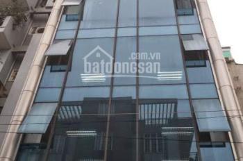 Bán tòa nhà văn phòng 130m2 x 9 tầng + hầm mặt phố khu Trần Thái Tông