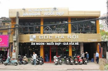Cho thuê mặt bằng kinh doanh 400m2 x 2T vị trí đắc địa ngã tư Hàm Nghi làm nhà hàng, quán bia, gara