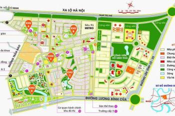 Mở bán GĐ2 KDC An Phú An Khánh đối diện Nhà Ga Metro, P.Thảo Điền, 42tr/m2, thổ cư, SHR, 0904943862