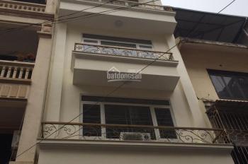 Cho thuê nhà riêng tại ngõ 2 phố Trần Cung, DT gần 50m2 x 5 tầng, MT 4,5m. Tiện để ở, VP giá 15tr