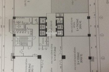 Cho thuê sàn thương mại, văn phòng giá rẻ, LH 0917041689