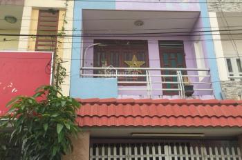 Cho thuê gấp căn nhà trong khu dự án 66 hecta P. Tân Hưng Thuận, Q12 có DT: 4m x 20m, 13 tr/th