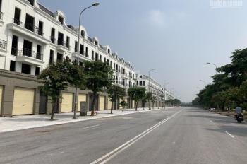 Lô góc kinh doanh giáp với đường Thành Trung đang thông xuống VinCity