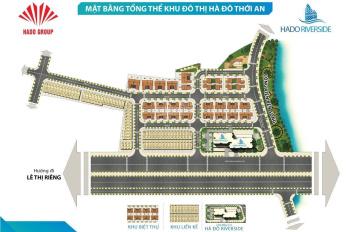 Bán đất giá rẻ KDC Hà Đô Thới An, Lê Thị Riêng Q12 giá 20-23tr/m2, dân cư hiện hữu. LH 0933125290