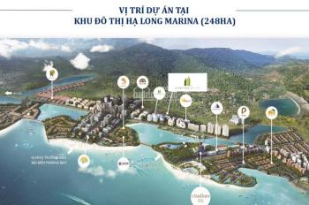 Ban gấp căn hộ 2PN CC Green Bay Garden Hạ Long view biển và đảo Tuần Châu tầng đẹp, LH: 0332462416