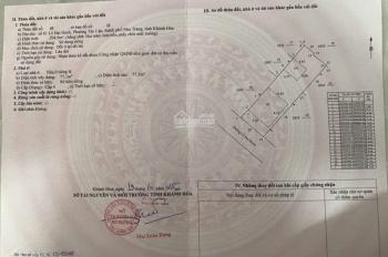 Bán đất 61 Lê Đại Hành - P. Tân Lập - Nha Trang 204,9m2, giá 105tr/m2