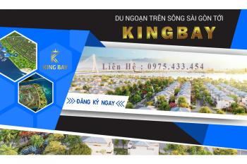 Bán đất mặt tiền King Bay, đối diện Aqua City Manhattan, giá 13 tr/m2, cam kết lời ngay khi mua