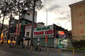 Cho thuê nhà mặt tiền Nguyễn Thị Minh Khai, Quận 3 gần Cao Thắng 13x40m (nở hậu 15m) 1 trệt, 1 lầu