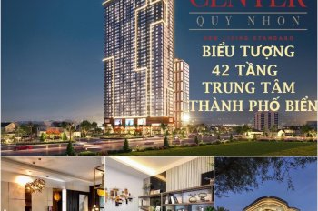 Căn hộ nghỉ dưỡng Grand Center Quy Nhơn cao cấp smarthome giá 1.1tỷ CK 10%+hoàn 5%, LH 0968687800