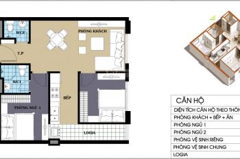 LH: 0971285068.Cần bán căn hộ 2PN2VS, chung cư 987 Tam Trinh, DT:55m2,giá bán:1,070 tỷ.