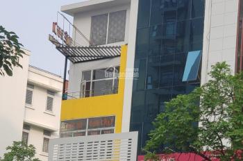 Cho thuê nhà mặt phố Trung Hòa, P. Trung Hòa. DT 150m2, 5 tầng, MT 6m, thông sàn giá rẻ 0989031677