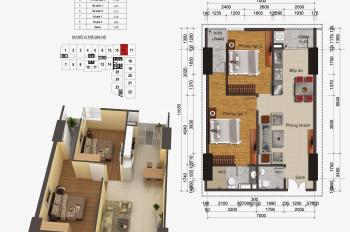 Chính chủ bán căn 2PN 2VS chung cư Gemek 1, DT: 75m2, giá bán: 1,2 tỷ. LH: 0971285068