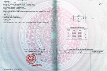Đất ngay chợ Hòa Phú, UBND Hòa Phú, Củ Chi, 5x16m full TC giá chỉ 1 tỷ 5 TL. LH Việt 056789.8839