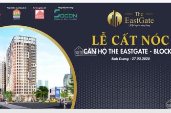 Căn hộ The East Gate, đối diện BX Miền Đông, 25triệu/1m2, 0908876898