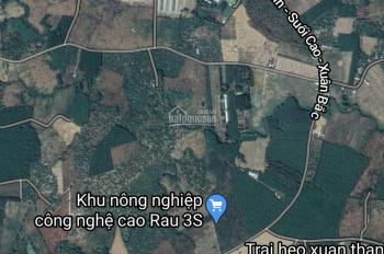 Bán đất xã Xuân Thành, huyện Xuân Lộc, tỉnh Đồng Nai, 18000m2, 2 mặt tiền đường Xuân Bắc - Suối Cao