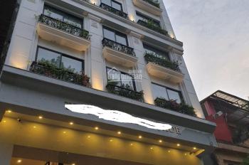 Bán nhà sổ đỏ ô góc mặt phố Hòa Mã, diện tích 120m2 xây 10 có hầm mặt tiền 17,5m 2 mặt phố