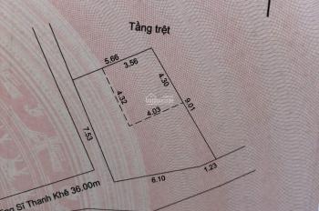 Bán gấp lô đất chỉ sau nhà MT Dũng Sĩ Thanh Khê, 53m2 hai mặt kiệt thoáng
