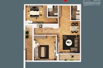 Bán gấp căn hộ 85.5m2, 2PN, 2WC CC Bohemia Lê Văn Thiêm giá cắt lỗ. LH 0916295444