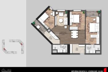 Bán gấp căn hộ 3PN, 95m2, The Emerald CT8 Mỹ Đình, giá: 3.0 tỷ, LH: 0919.128.298