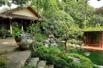 Bán BT VIP số 1 Hòa Sơn Lương Sơn 6000m2 có ao cá nhà hàng bể bơi biệt thự nghỉ dưỡng GĐ KD đỉnh