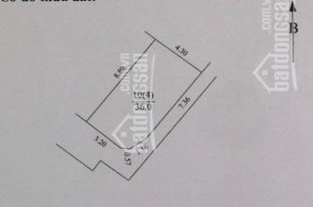 Tôi bán đất 36m2 lô góc, giá rẻ Định Công Thượng, Q. Hoàng Mai, 0986112280