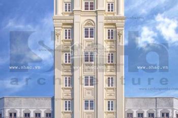 Cho thuê văn phòng - tòa nhà kiểu Châu Âu- khu Bàu Cát- Tân Bình - 200m -800m2 - giá 258k/m2