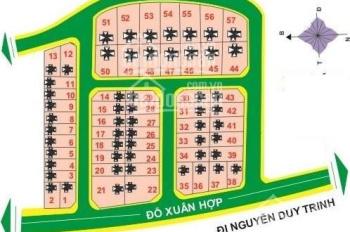 Bán đất Đỗ Xuân Hợp 40 tr/m2 DT 12m x 22m, 264m2, KDC Bách Giang, Phước Long B, Quận 9
