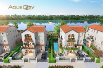 Sở hữu nhà phố 1 trệt 2 lầu tại khu đô thị sinh thái 3 mặt giáp sông, giá chỉ 5,9 tỷ lh 0903230249