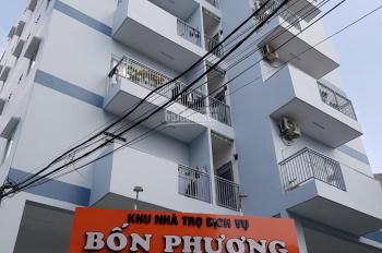 Bán căn hộ dịch vụ, phường Tân Thới Hòa, quận Tân Phú, Dt 332m2, 7 lầu 54 phòng có thang máy 34 tỷ