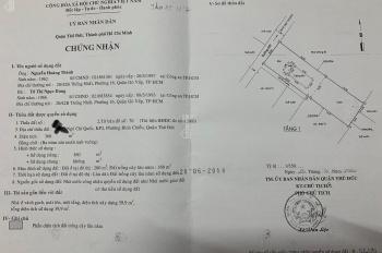 Nhà biệt thự 360m2 Thủ Đức nhưng giá Củ Chi 15tr/m2