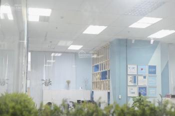 Cho thuê văn phòng mặt bằng tại Hà Thành Plaza 120m2, đã setup đủ đồ, chia phòng họp